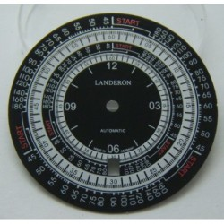 CADRAN LANDERON CALCULATOR POUR ETA 2824-2 DIAMETRE 35MM