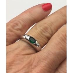 CADRAN CHRONOGRAPHE NOIR ET ARGENT POUR ETA VALJOUX 7750 DIAMETRE 30MM